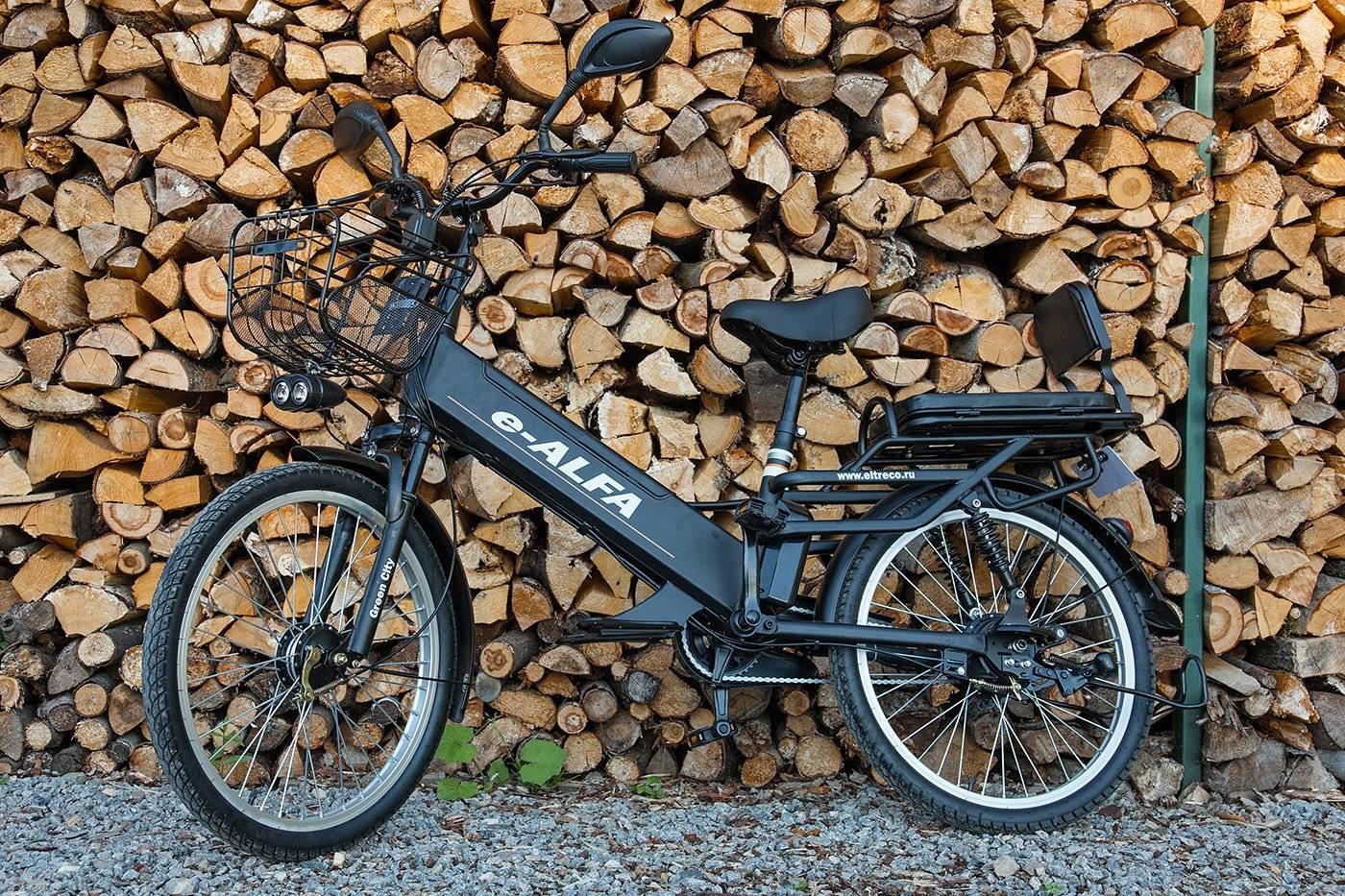 Велогибрид Eltreco e-ALFA GL 500W, 010824-0248, фото 9