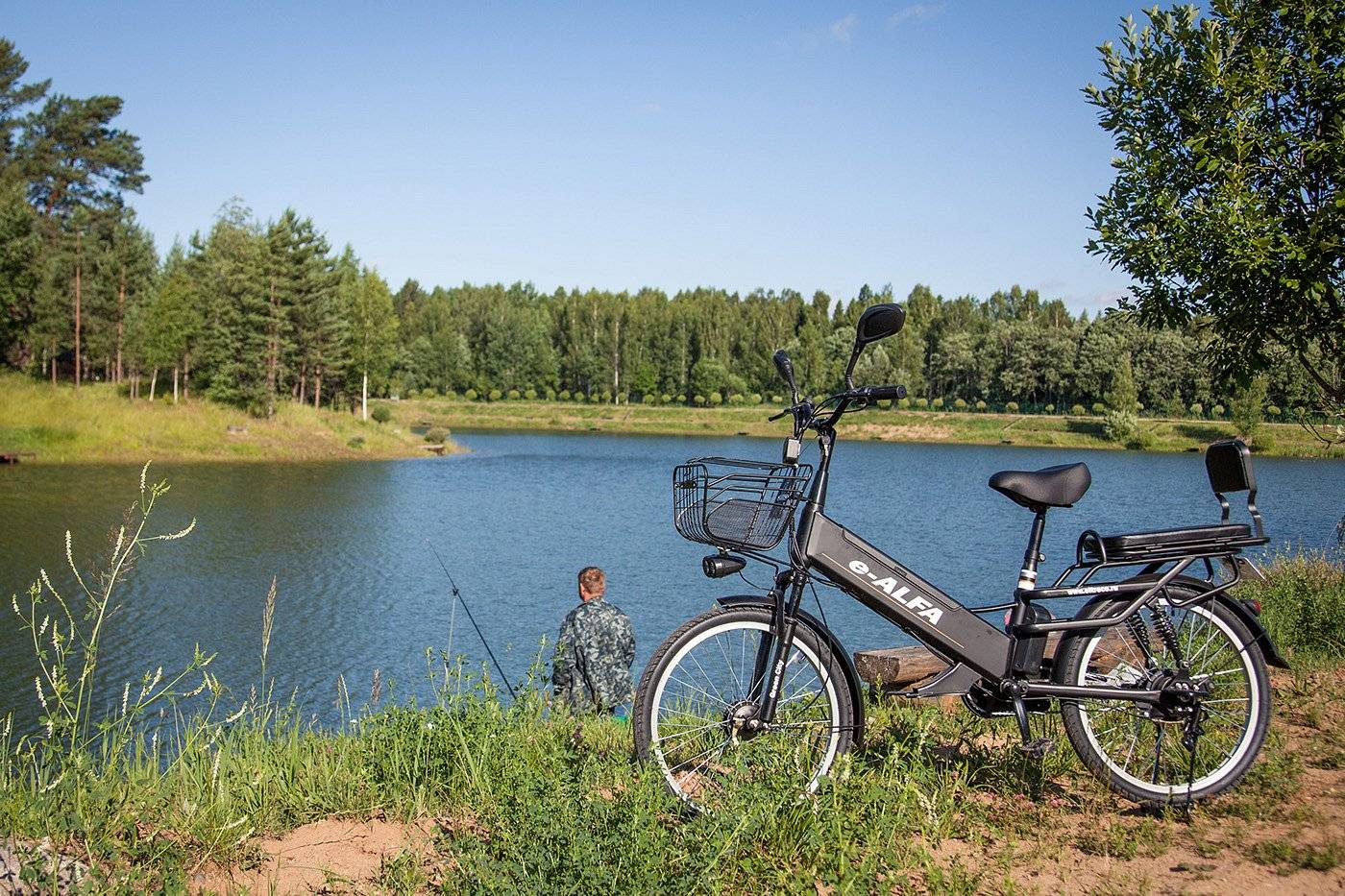 Велогибрид Eltreco e-ALFA GL 500W, 010824-0248, фото 8