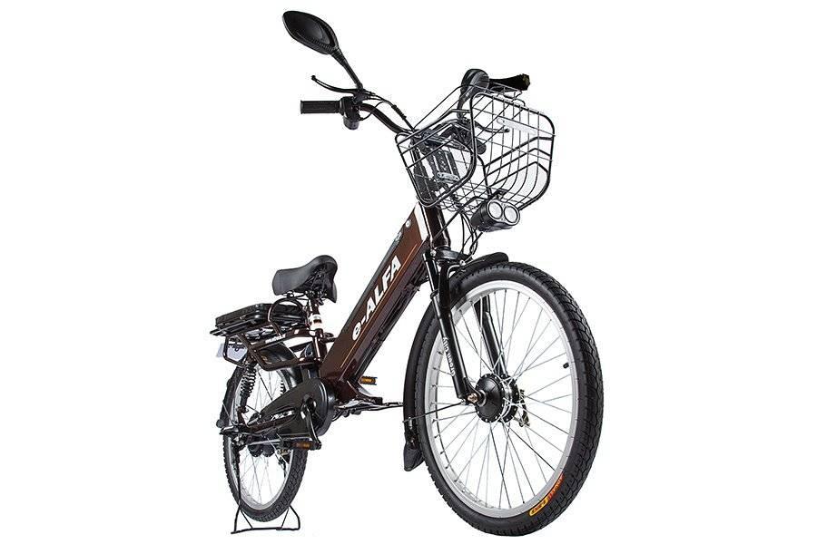 Велогибрид Eltreco e-ALFA GL 500W, 010824-0248, фото 3