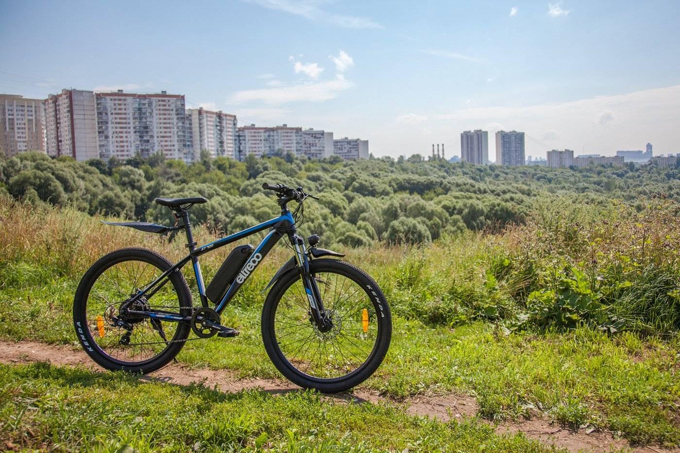 Велогибрид Eltreco XT700 350W, 010833-1855, фото 9