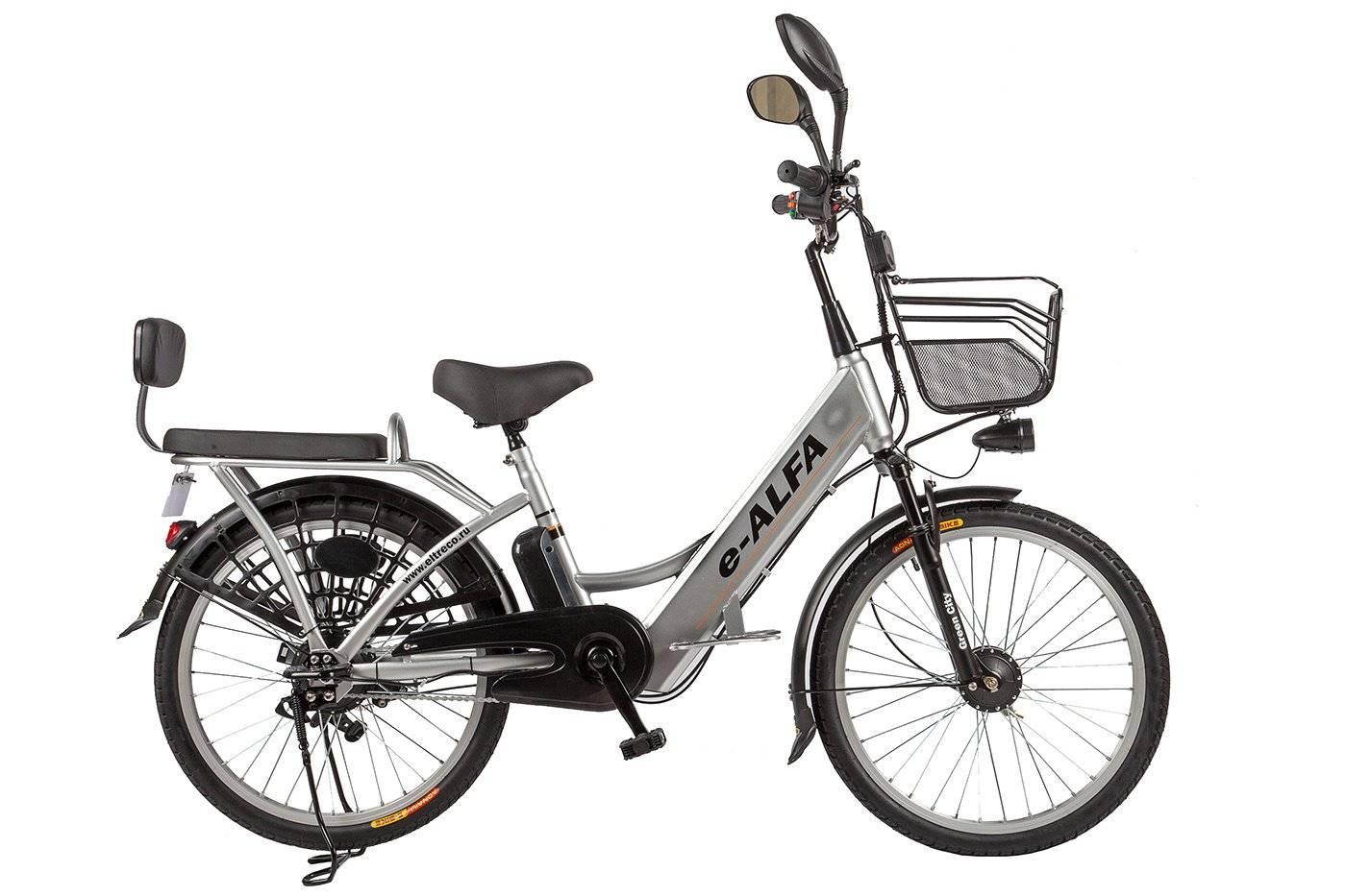 Велогибрид Eltreco e-ALFA 350W, 010822-0082, фото 10