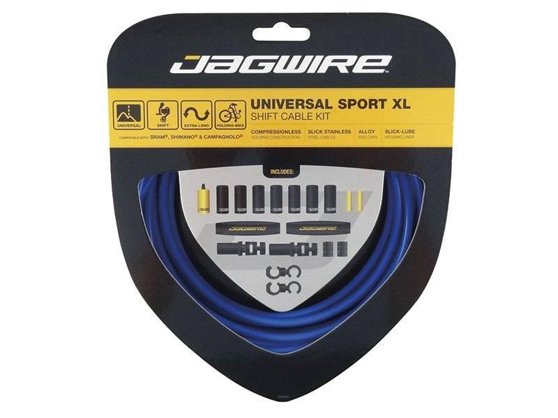 Тросы с оболочками JAGWIRE Universal Sport Shift XL, длинные, для переключателей, комплект, UCK603