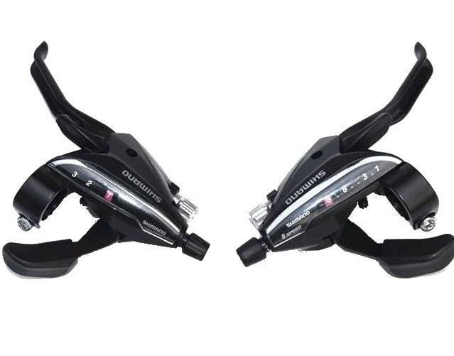 Тормозная ручка/шифтер Shimano Acera EF65, комплект, 3x9 скорости, трос+оплетка, ESTEF65P9A3L