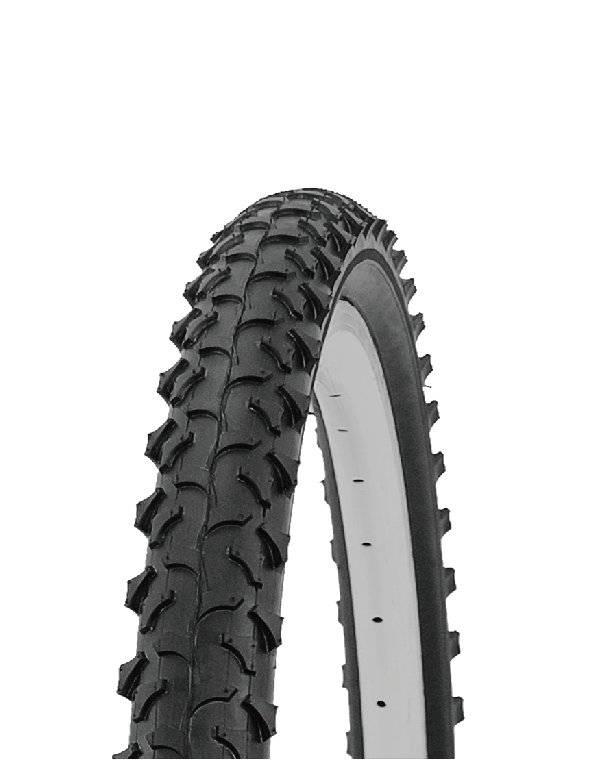 Велопокрышка HORST (25), для MTB, 26x2.10 (54-559), высокий, черная, 00-011078