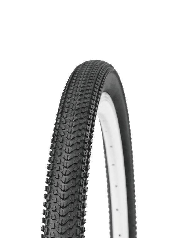 Велопокрышка HORST (25), для MTB/CROSS COUNTRY/STREET, 27.5x1.95 (53-584), низкий, черная, 00-011084