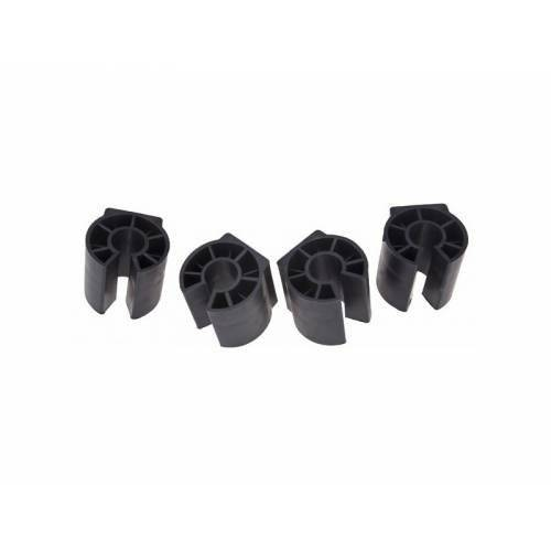 Насадки для защиты лакокрасочного покрытия широкие, D:25мм, для задних багажников, 4 шт, 391