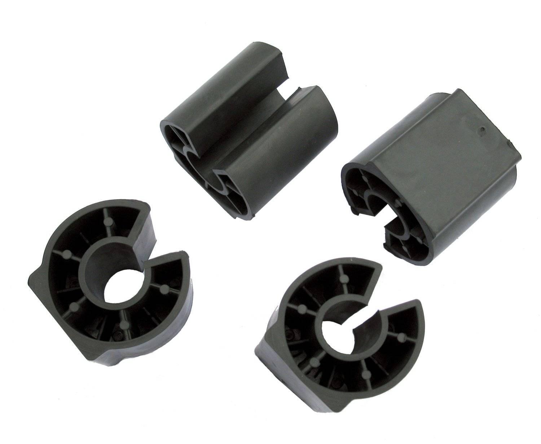Защита окрашенной поверхности широкая D30мм, для алюминиевых багажников, 939