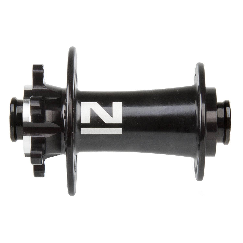 Втулка передняя Novatec под дисковый тормоз, 32 отверстия, 15х110 мм, Boost, черная, 326137, фото 1