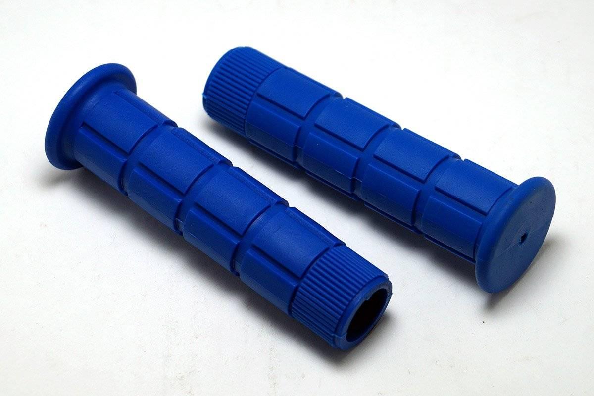 Грипсы MTB 125mm, резина, синие, HL-GB72 blue