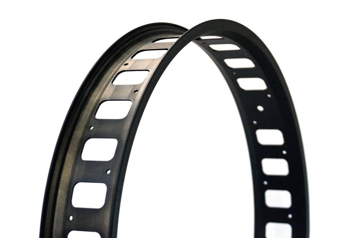 Обод велосипедный 24*32H, 80MM (Fatbike), черный
