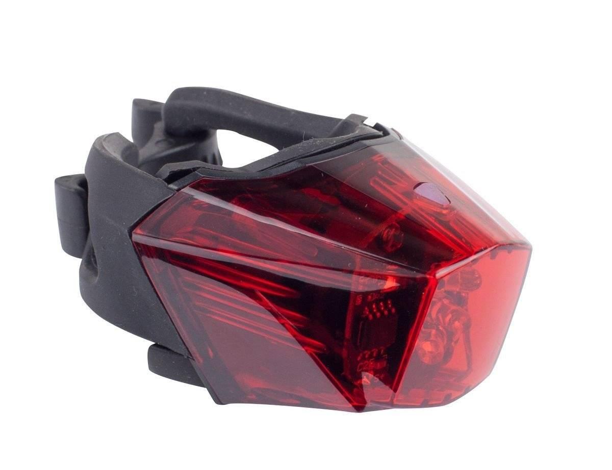 Фото - Фонарь задний велосипедный CHANCE GOOD ET-3207, 3 светодиода, крепление на штырь фонарь велосипедный xc 910t задний 3 светодиода 3 режима w0443