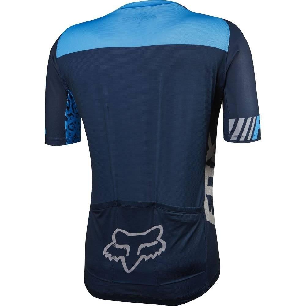 Велофутболка Fox Ascent Pro SS Jersey, синяя 2016, фото 2
