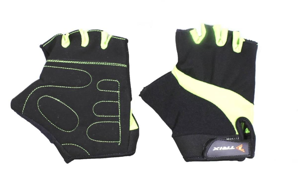 Велоперчатки TRIX SCOTT-GREEN, зеленый