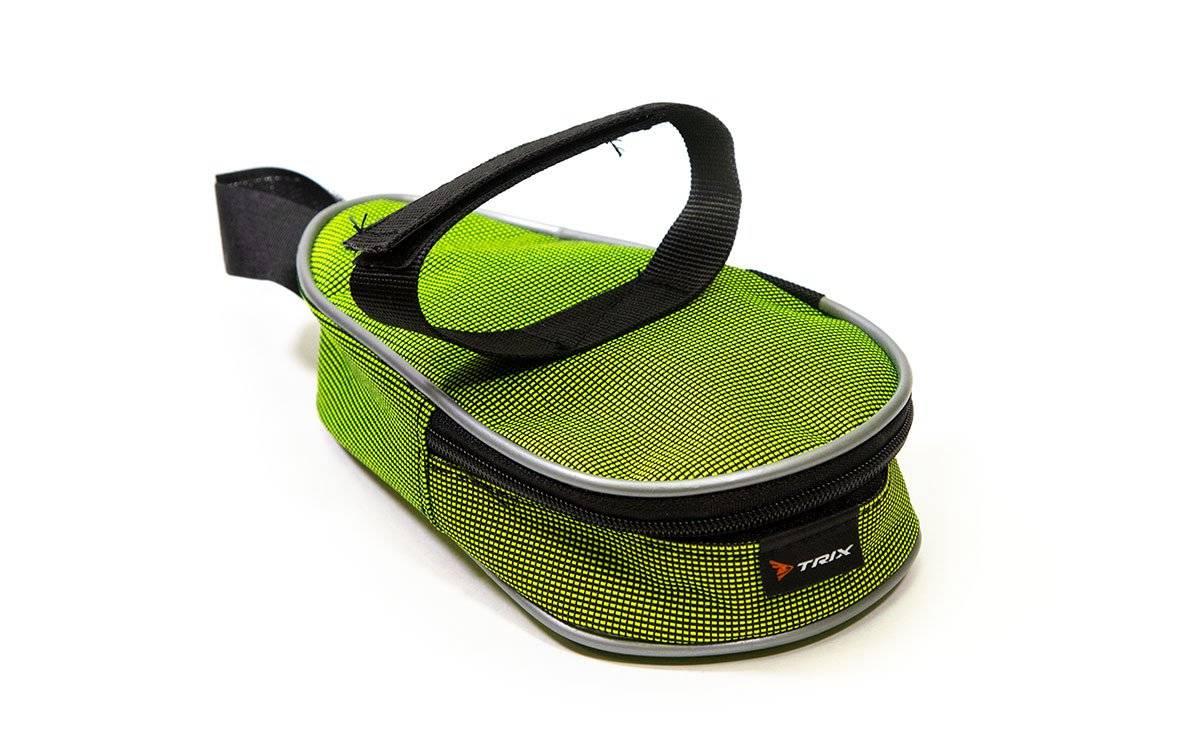 Фото - Велосумка TRIX под седло маленькая, зеленый, вр051.019.1.0 велосумка под седло stark g 2 средняя с чехлом от дождя черно бежевая g 2