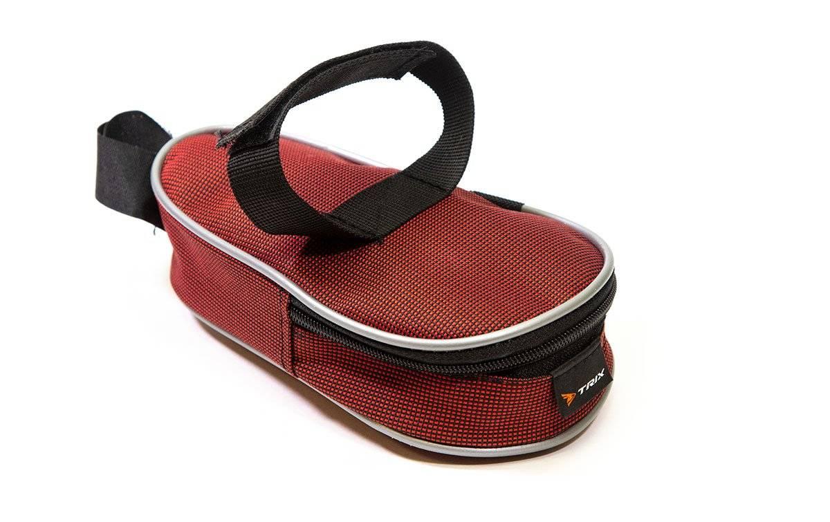 Велосумка TRIX под седло маленькая, красный, вр051.019.1.0