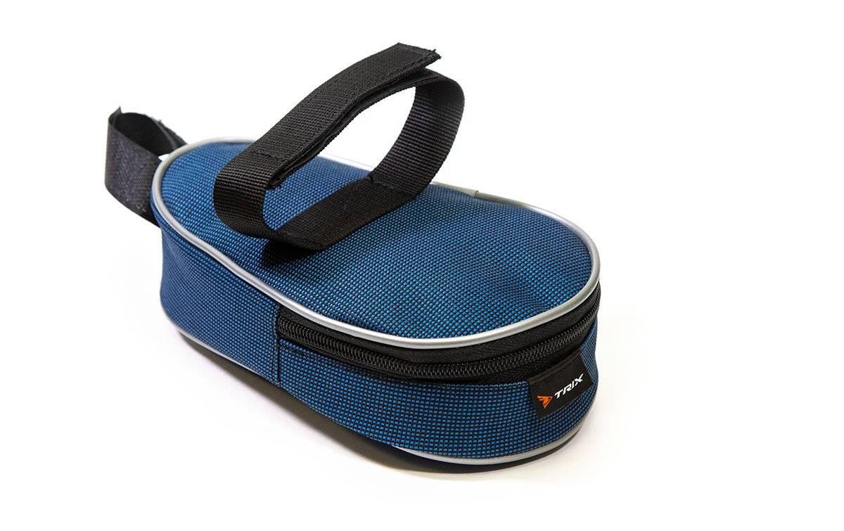 Велосумка TRIX под седло маленькая, синий, вр051.019.1.0