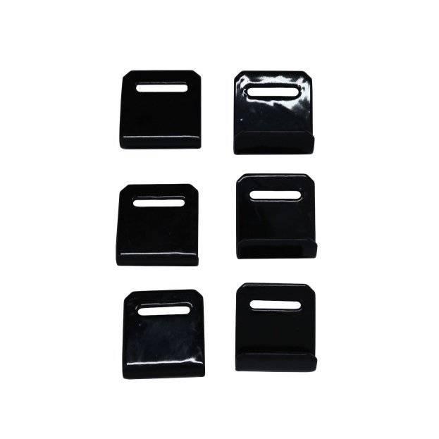 Крючки PERUZZO, оцинкованная сталь, для всех багажников на заднюю дверь, 6 штук, 933